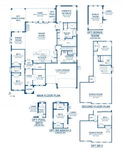 Key West II Floor Plan